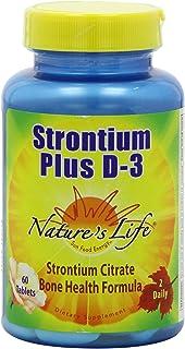 Nature's Life Strontium Plus | 60 ct