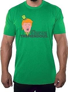 Donald Trump T-Shirts, St Patrick's Day Donald Trump Leprechaun Shirt - Tremendous