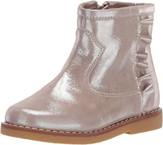 Elephantito Kids' Bootie with Ruffles Fashion Boot