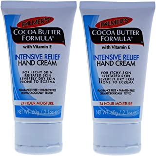 Palmers Cocoa Butter Intensive Relief Hand Cream - Pack of 2-2.1 oz Cream
