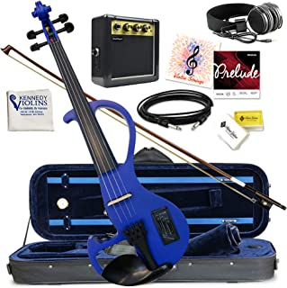 Bunnel EDGE Clearance Electric Violin Element BE300 (جت سیاه)