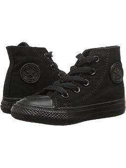 kids all black converse