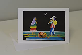 Hand-painted Christmas Card,