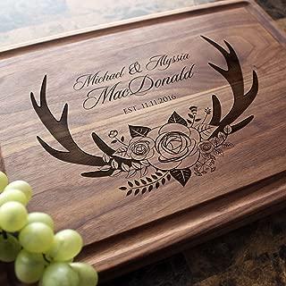 Personalized Cutting Board, Custom Keepsake, Engraved Serving Cheese Plate, Wedding, Anniversary, Engagement, Housewarming, Birthday, Corporate, Closing Gift #412