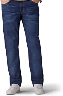 Lee Mens 20068 Premium Flex Denim Classic Fit Jeans - Blue
