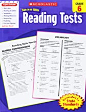 Scholastic Success With Reading Tests, Grade 6 (Scholastic Success with Workbooks: Tests Reading)