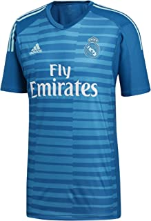adidas 2018-2019 Real Madrid Away Goalkeeper Football Soccer T-Shirt Jersey