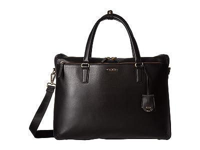 Tumi Voyageur Chandler Business Brief (Black) Briefcase Bags