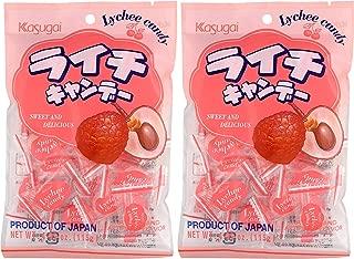 Kasugai Lychee Candy 4.05oz (2 Pack)