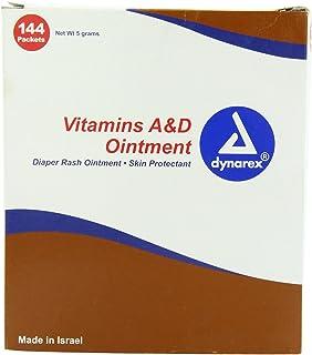 Dynarex Vitamin A & D Ointment Unit Packets 144/box