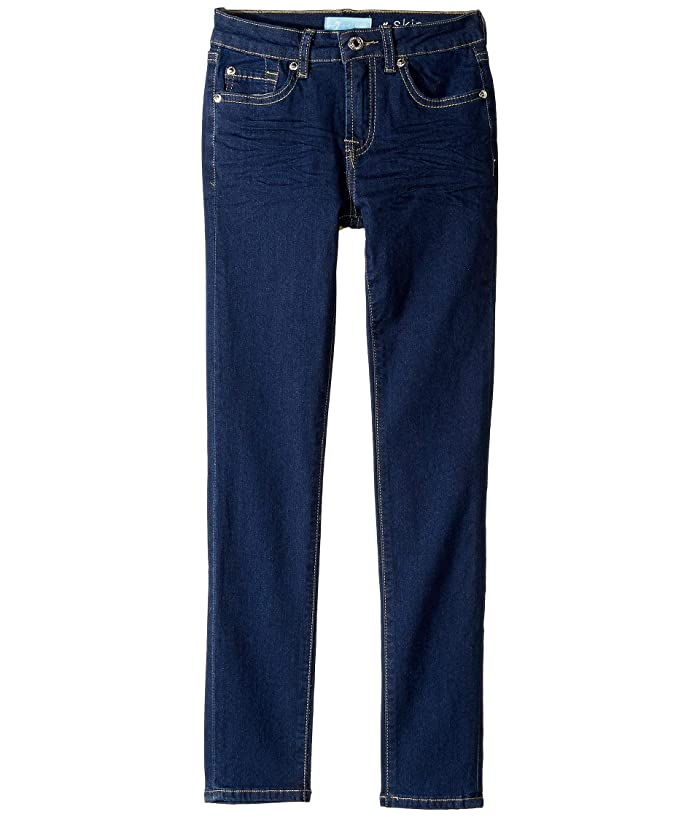 7 For All Mankind Kids  B (Air) The Skinny Stretch Denim Jeans in Avant Rinse (Big Kids) (Avant Rinse) Girls Jeans