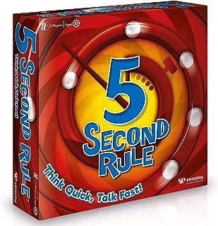 5 Second Rule Card Game, GF001, Multi