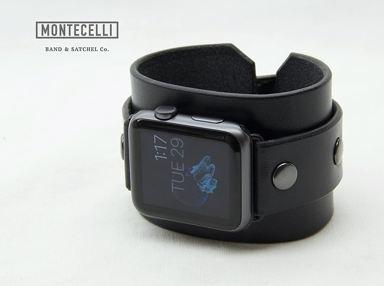 Venture Black (Tailored Fit) Cuff Band for Apple Watch