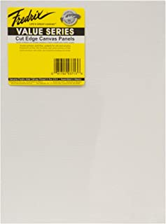 Tara Materials Fredrix 12x16 Value Series Cut Edge Canvas Panels 6/pk