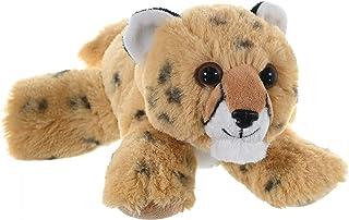 (Cheetah) - Wild Republic Cheetah Pup Plush, Stuffed Animal, Plush Toy, Gifts for Kids, Hug'Ems 7