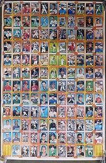 1990 Topps Baseball UNCUT SHEET with FRANK THOMAS ROOKIE Nolan Ryan Sandy Koufax Larry Walker ROOKIE AND MORE!!