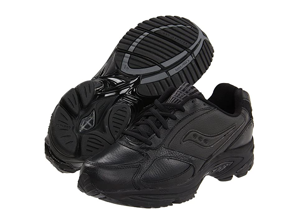 Saucony Grid(r) Omni Walker (Black/Black) Men