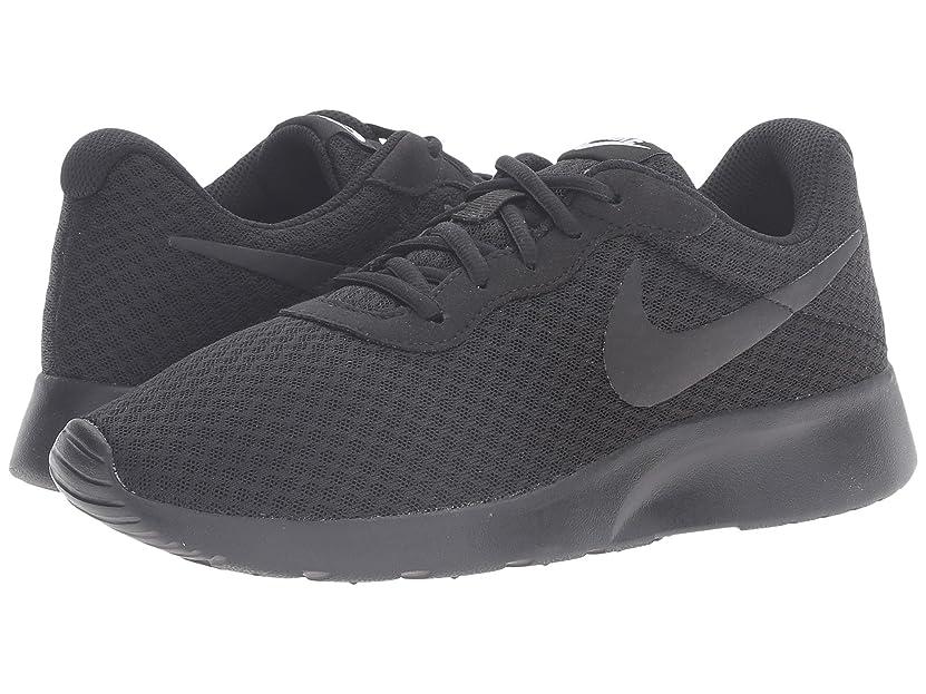あそこ昇進七時半(ナイキ) NIKE レディースランニングシューズ?スニーカー?靴 Tanjun Black/Black/White 8.5 (25.5cm) B - Medium