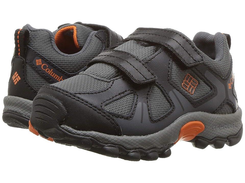 Columbia Kids PeakFreaktm Xcrsn Waterproof (Toddler/Little Kid) (Graphite/Heatwave) Boys Shoes