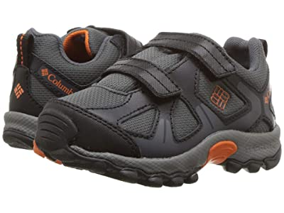 Columbia Kids PeakFreaktm Xcrsn Waterproof (Toddler/Little Kid) (Graphite/Heatwave) Boys Shoes