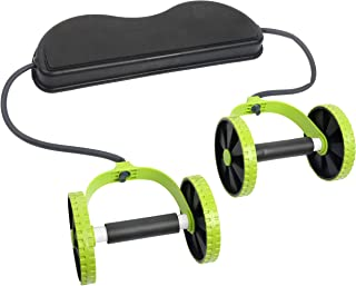 YAETEK Sport Core Double A-B Power a-b Roller a-b Wheel Fitness Abdominal Exercises Equipment Coaster Pull roda Waist Slimming Trainer(RA-0122)