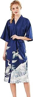Best silk floral robe long Reviews