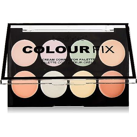 Technic Color Fix - Paleta de corrector en crema de 8 tonos