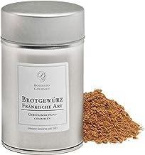 Boomers Gourmet - Brotgewürz Fränkische Art, Brotgewürzmischung mit Koriander gemahlen, Kümmel gemahlen, Fenchel gemahlen, ohne Salz - Gewürzdose 11,5 cm - 120 g