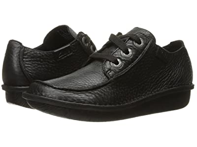Clarks Funny Dream (Black Leather) Women