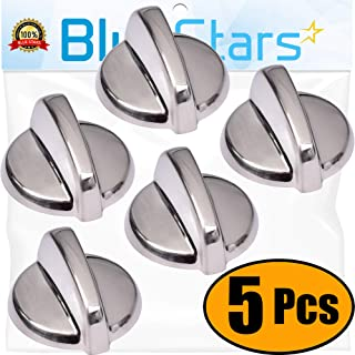 Ultra Durable WB03T10325 Range Knob Replacement Part by Blue Stars - Exact Fit For General Electric Ranges - Replaces AP5690210, PS3510510 - PACK OF 5