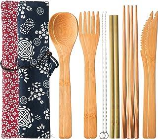 1 x Sushi Blade 5 x Coppie di Bacchette 1 x Sushi Tenda 13 Pezzi//Set Family Office Party Bamboo Sushi Kit Include 1 Cucchiaio Caredy Sushi Kit