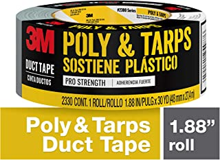 3M Poly & Tarps Duct Tape, 1.88 inches x 30 yards, 2330-C, 1 roll