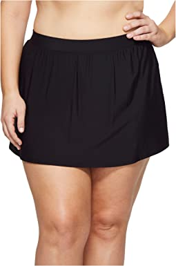 Miraclesuit - Plus Size Skirted Pants Bottom
