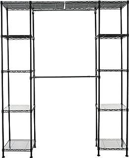 seville bronze total closet organizer