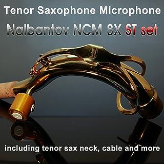 Micrófono saxofón tenor Nalbantov NCM 8X ST set - Sistema de recolección, Cable, Cuello