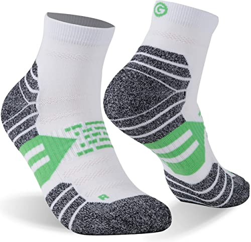 Running Golf Ankle Athletic Cushion Cycling Tennis Low Cut Unisex Socks 1/3/6 Pc in M/L