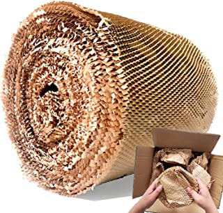 """AlexHome Honeycomb Packing Paper,Eco Friendly Biodegradable Bubble Cushioning Wrap,15"""" W x165' L,Products & Gifts & Moving..."""