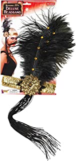 Roaring 20's Sequin Flapper Headband with Feather