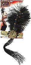 Forum Novelties Roaring 20's Sequin Flapper Headband with Feather