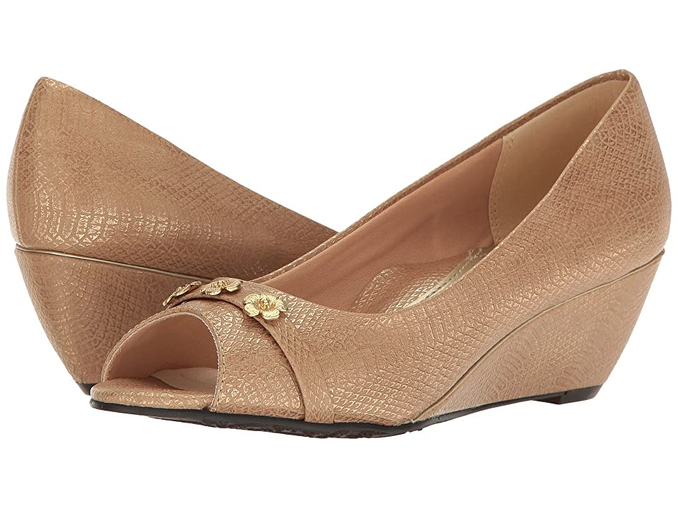 Soft Style Adley (Taupe Snake) Women