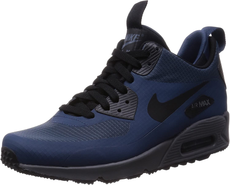 Nike Men's Air Max 90 Mid Winter bluee Black 806808-400