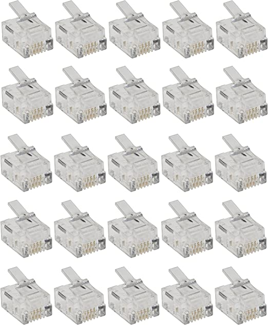 SYS 6p4c Ninigi 5x rj11gl hembra rj11 200mm pin 4 con panel-Stop-bloqueo alin