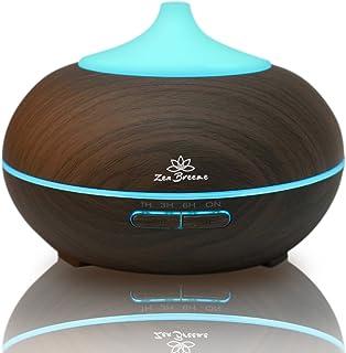 Zen Breeze Essential Oil Diffuser Dark Wood - Aromatherapy Diffuser - Birthday Gift Edition