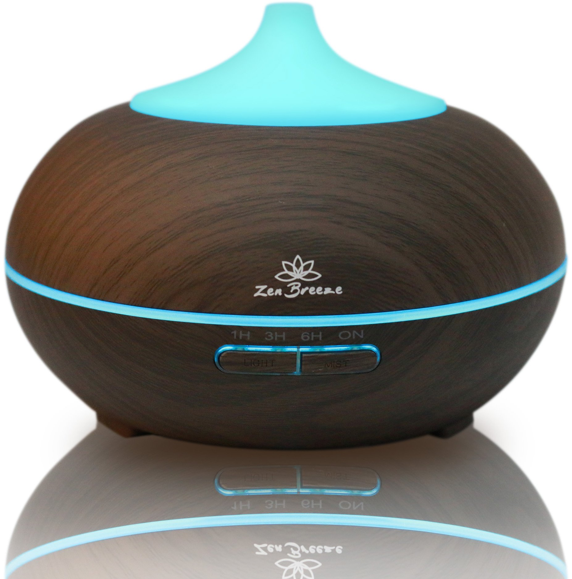 Zen Breeze Essential Oil Diffuser Dark Wood - Aromatherapy Diffuser - Birthday Gift Edition  sc 1 st  Amazon.com & Unique Gifts for Mom: Amazon.com
