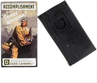 Duke Cannon WWII Era Big Brick of Soap for Men - Accomplishment, 10oz. Limited Edition