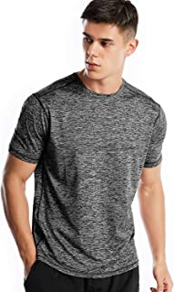 Dry Fit Athletic Shirts for Men Short Sleeve Workout Shirt