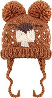 squirrel knitted hat