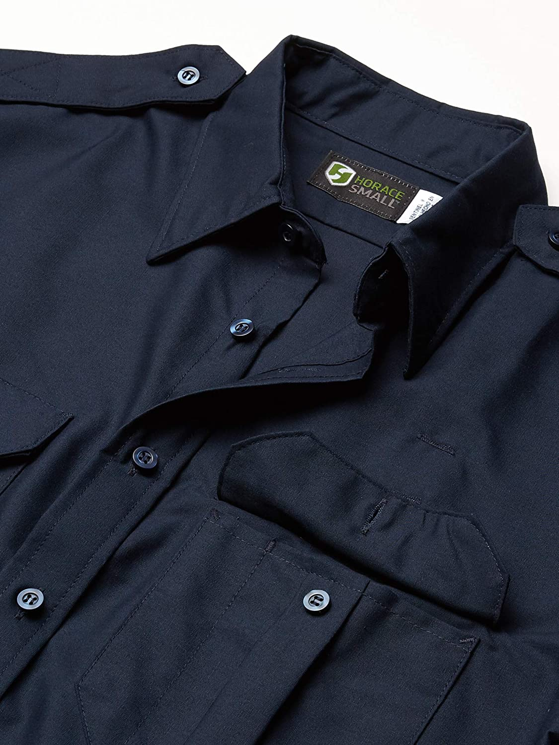 Horace Small Mens Classic Short Sleeve Security Shirt