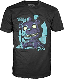Funko Pop Tees: Five Nights Nightmare Freddy