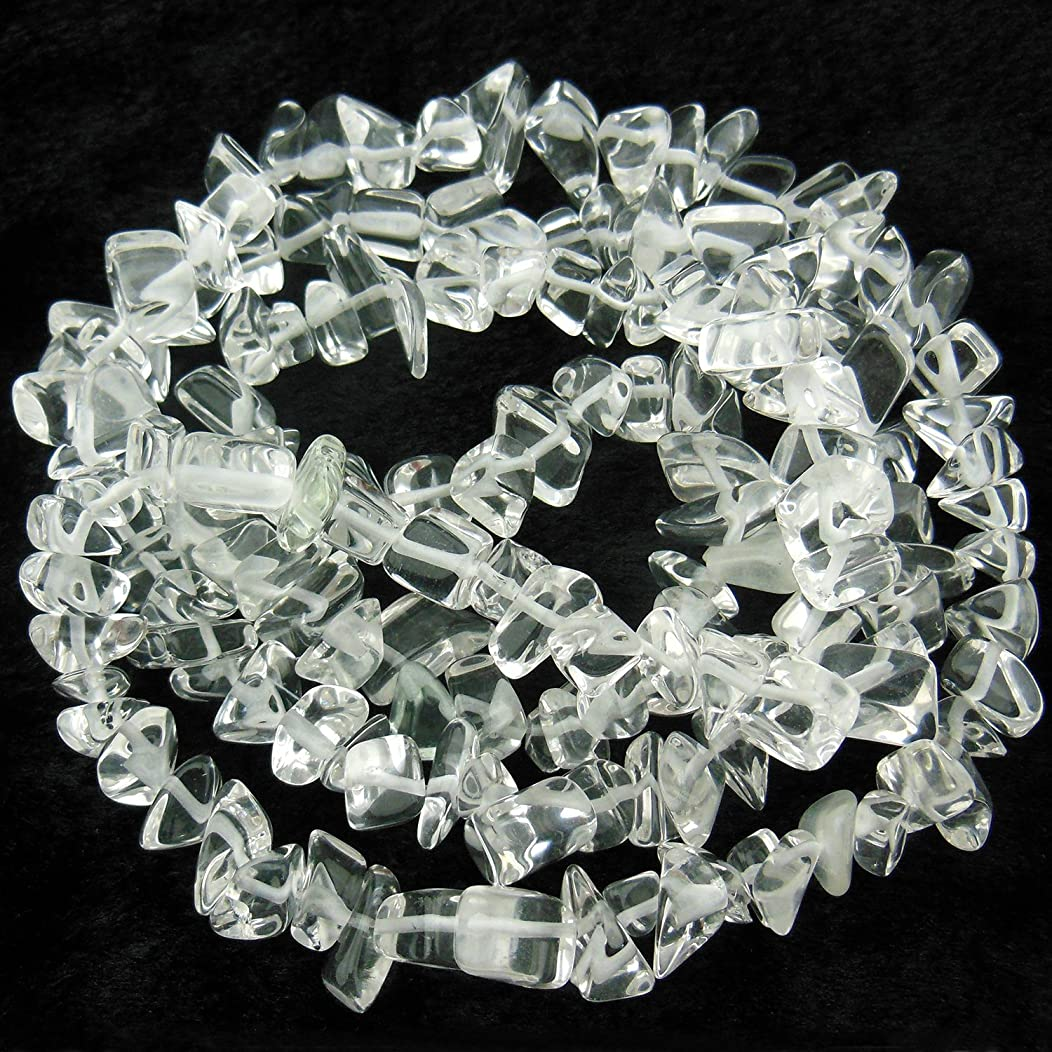 COIRIS 33'' Strand 9-16MM Clear Quartz Crystal Loose Beads Chips Stone for Jewelry DIY Making (St-1081)